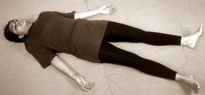 12 asanas  lying on the back  gandhi gyan mandir yoga